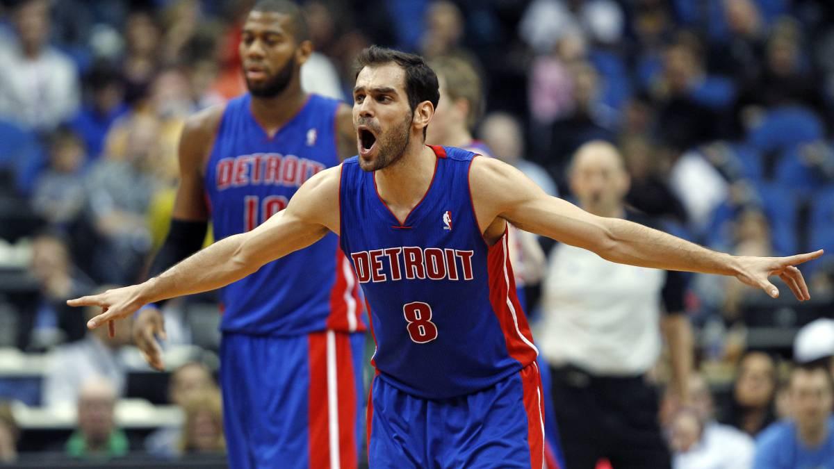 José Calderón volverá a los Detroit Pistons