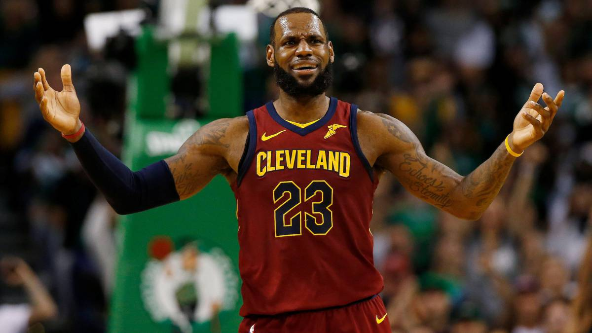 Los Angeles Lakers recibieron a LeBron James: