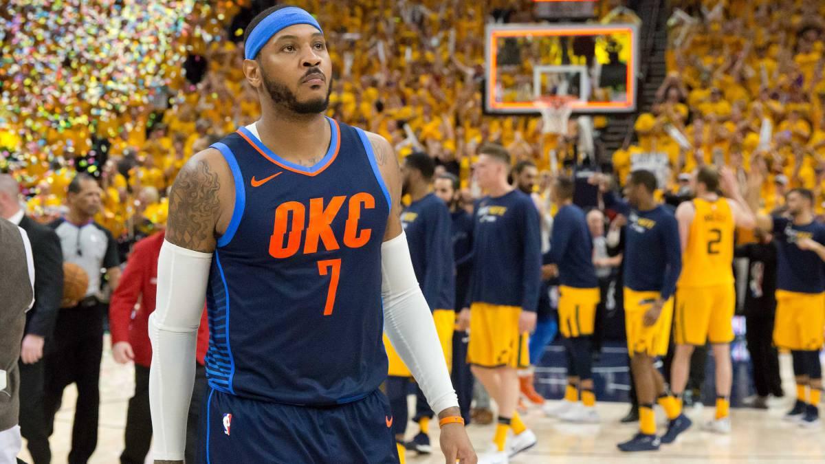 Los Rockets trabajan para fichar a Carmelo Anthony