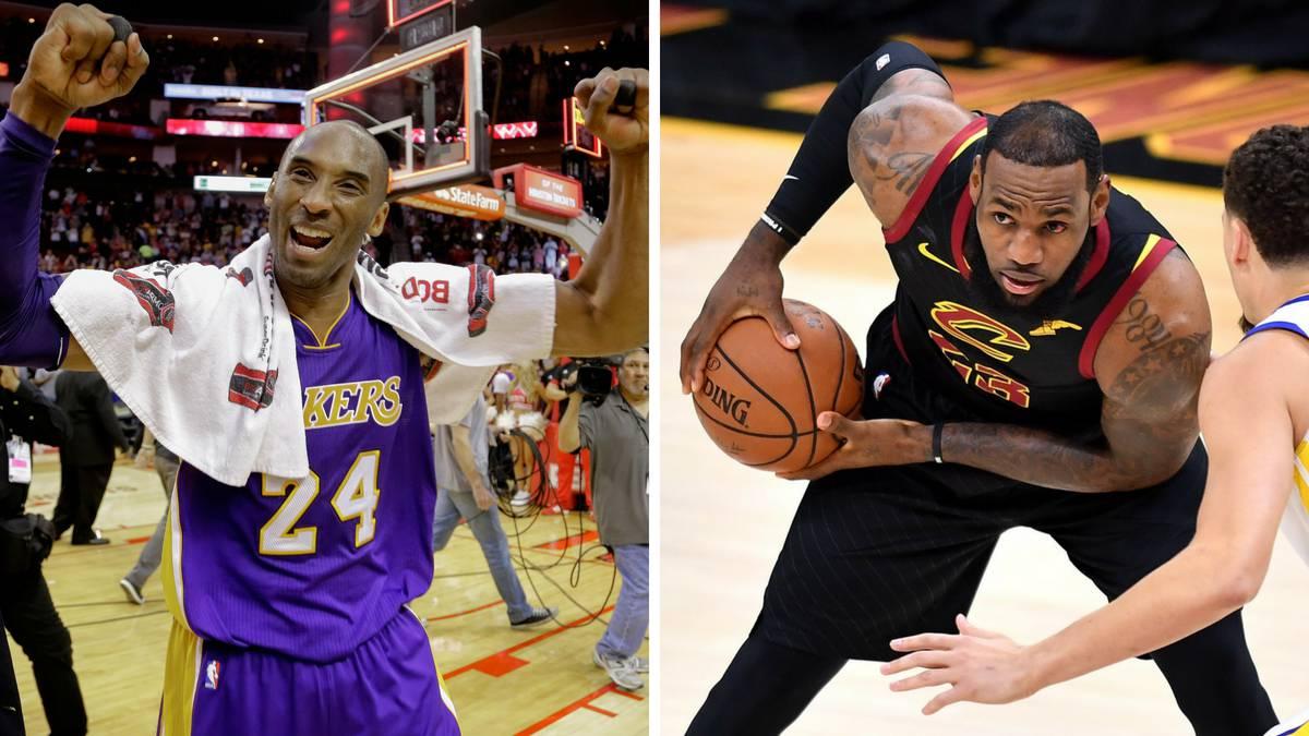 sports shoes 854cd 6f084 LeBron, el  doble  mejor que Kobe Bryant en los playoffs