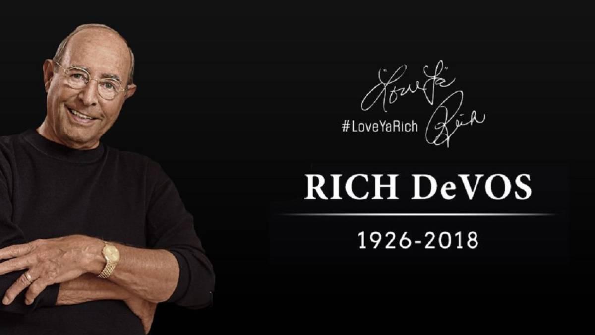 Muere el multimillonario Richard DeVos, cofundador de Amway