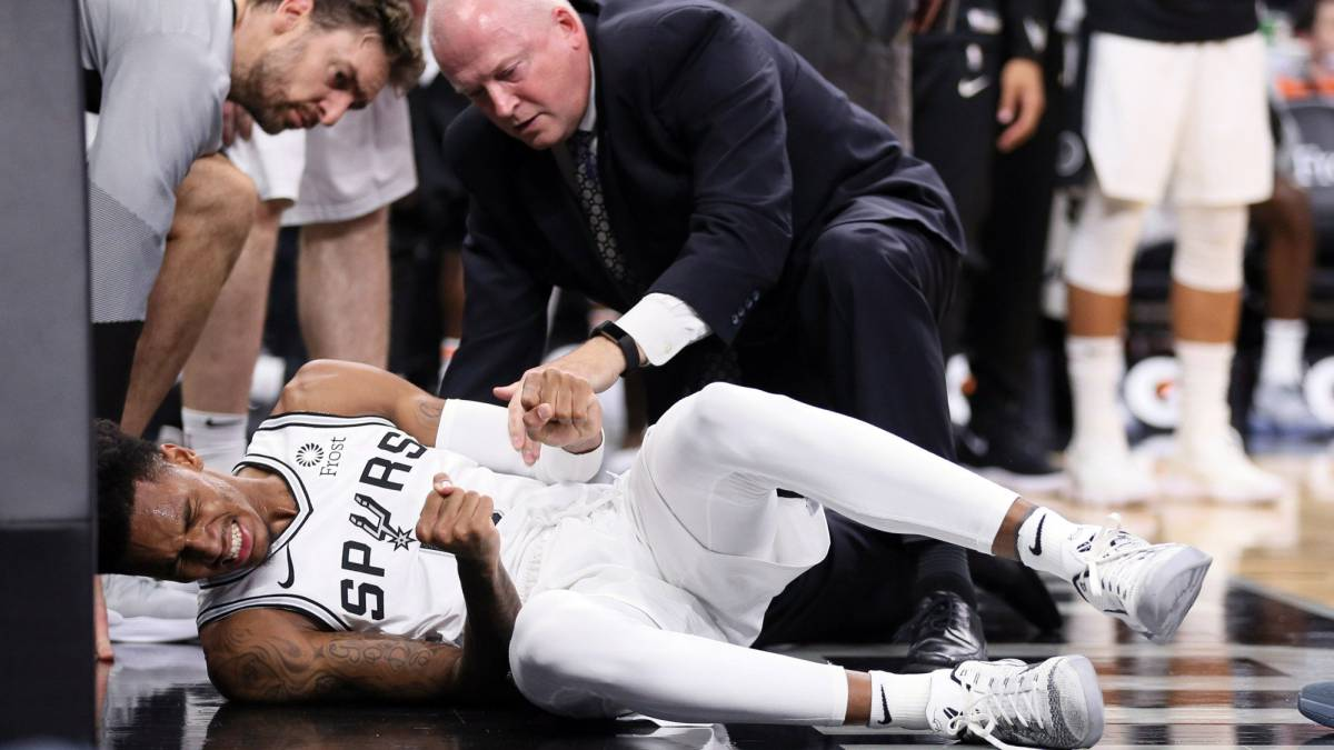 Dejounte Murray se pierde temporada con los Spurs