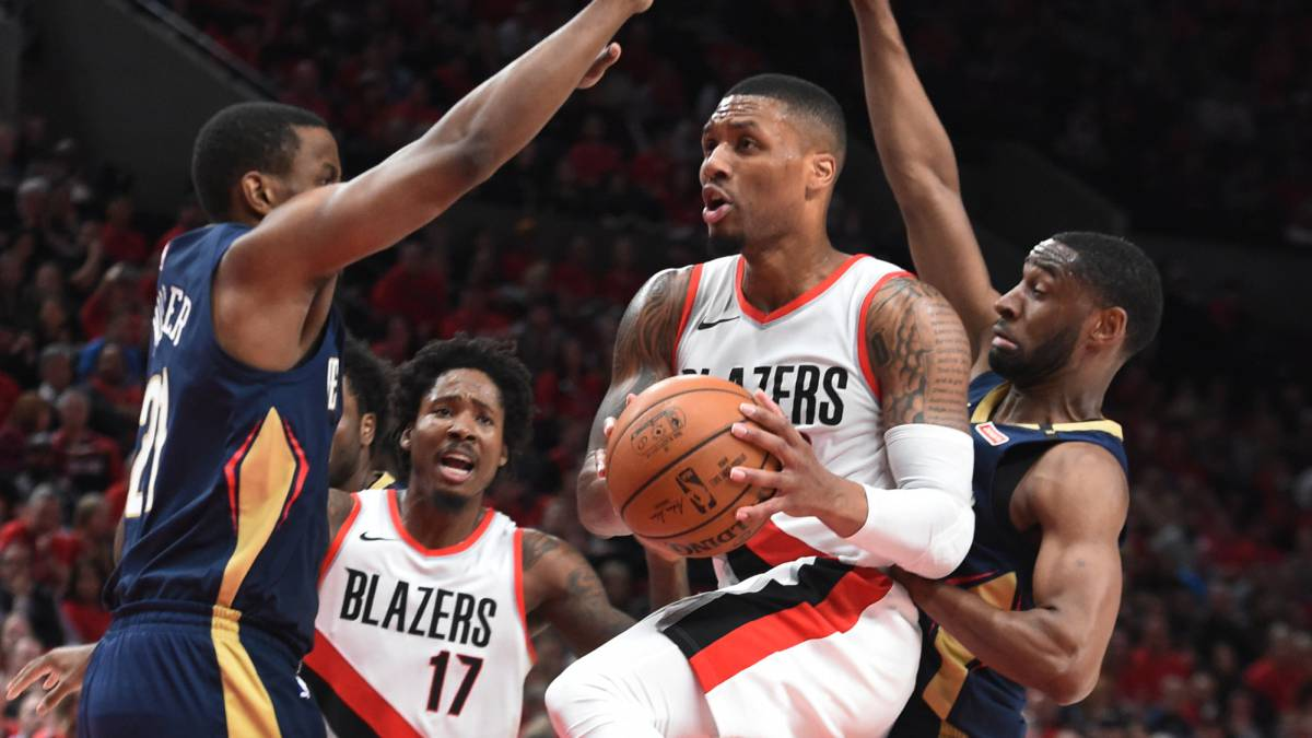 Los Trail Blazers opacan el debut de LeBron James con Los Lakers