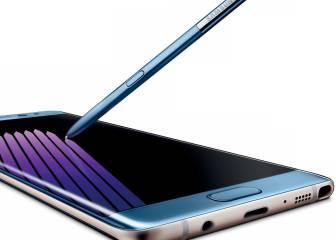 Nueva imagen del Samsung Galaxy Note 7 y su S-Pen que funcionaría bajo el agua