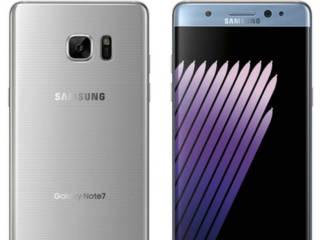 El Samsung Galaxy Note 7 muestra sus colores oficiales en nuevas fotos