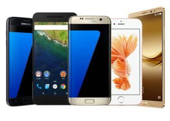 Estos son los smartphones más populares de 2016 hasta la fecha