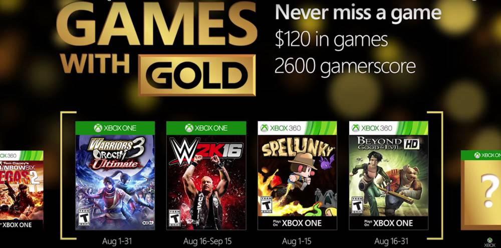 Xbox Juegos Gratis De Xbox Gold Para Xbox One Y 360 En Agosto As Com