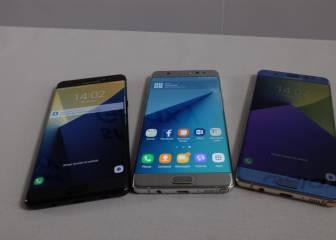 Lanzamiento oficial del Samsung Galaxy Note 7, todos los datos