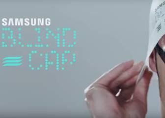 Samsung Blind Cap un accesorio que hace más accesible la natación