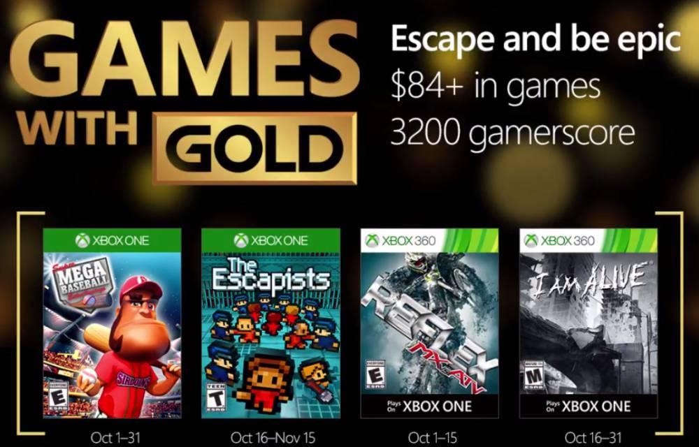 Juegos Gratis De Xbox Gold Para Xbox One Y 360 En Octubre As Com