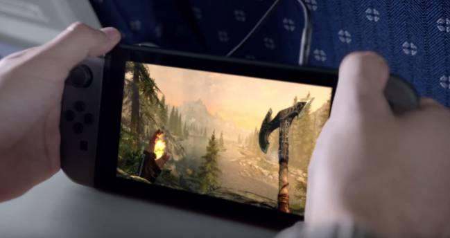 TES V Skyrim en Switch
