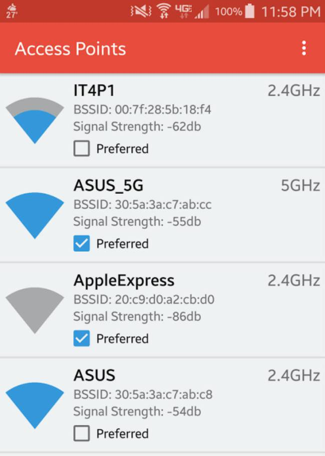 WiFi Switcher app
