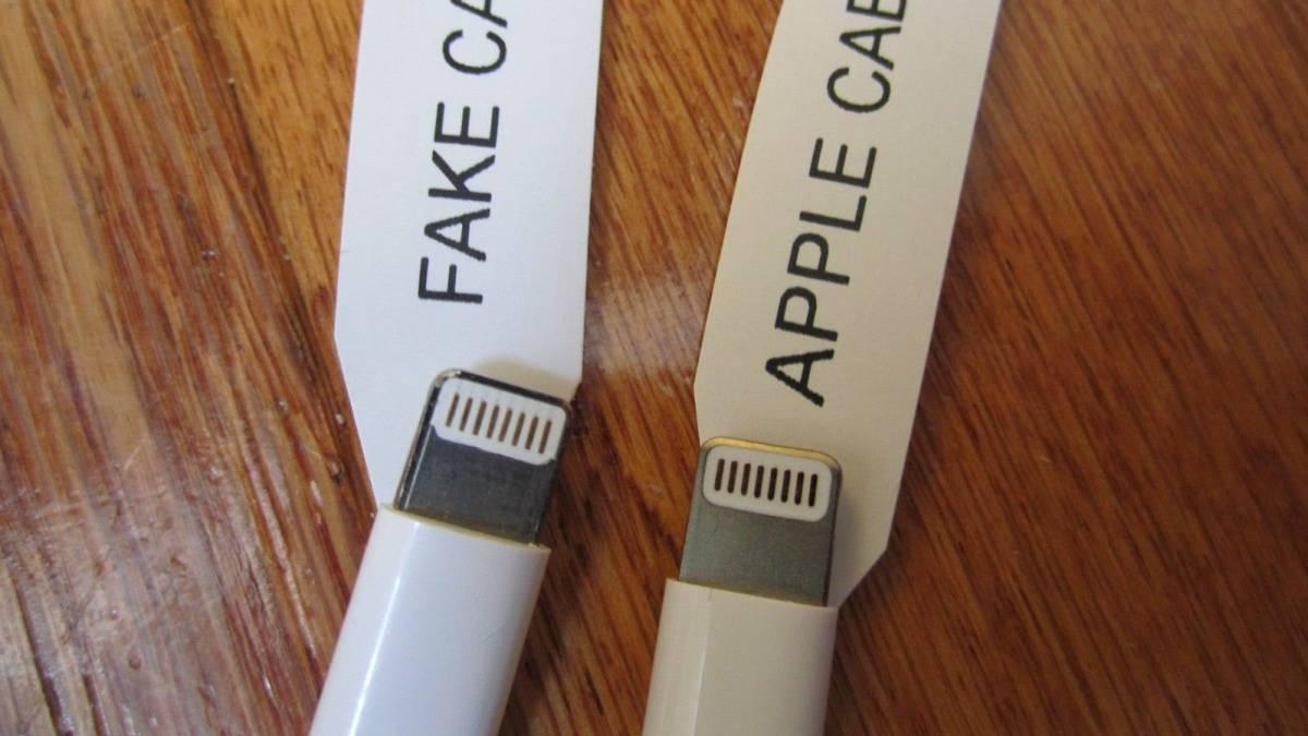 Cómo Se Diferencia Un Cable Apple Verdadero De Uno Falso Ascom
