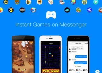 Ya puedes jugar a los Instant Games de Facebook Messenger mientras conversas