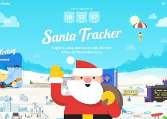 Ya puedes seguir a Papá Noel a través de Google Maps