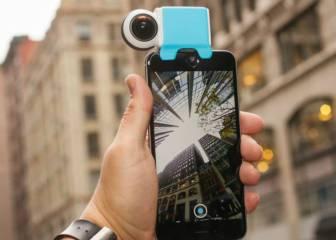 Giroptic IO, convierte tu iPhone en una cámara de 360 grados