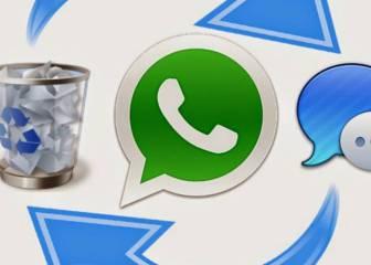 Cómo recuperar un mensaje borrado en WhatsApp