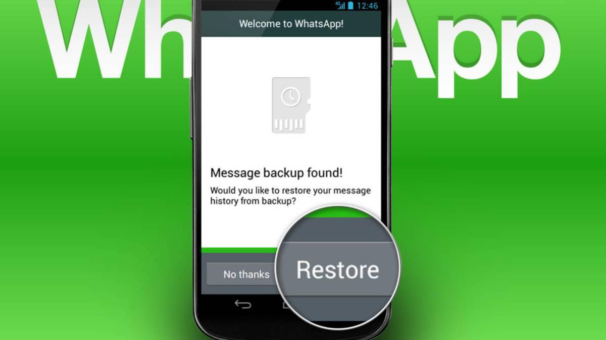 C mo cambiar de m vil sin perder los chats de whatsapp - Recuperar whatsapp borrados hace meses ...