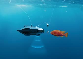 Así es Fishfinder, el dron sumergible que te ayuda a pescar en poco tiempo