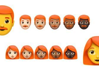 ¿Veremos emojis de pelirrojos en WhatsApp?