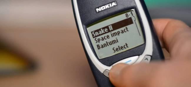 Snake, un juego mítico para un móvil mítico