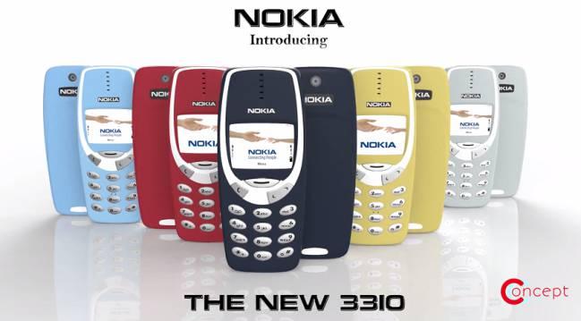 ¿Será el nuevo Nokia 3310 como este diseño conceptual?