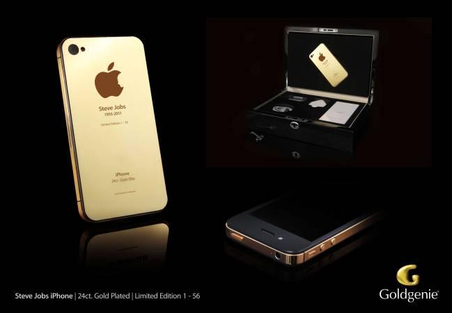 Uno de los 56 iPhone 4s de edición ultralimitada que se regalaron a Apple