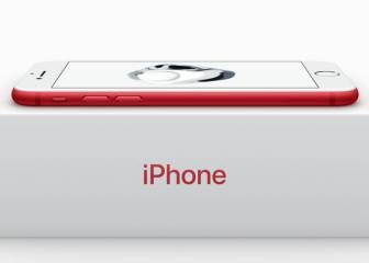 Nuevos iPhone 7 rojo, iPhone SE 128 GB y iPad de 9,7