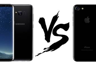 Samsung Galaxy S8 vs iPhone 7, ¿qué smartphone elegir?