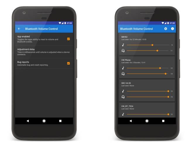 Personaliza El Volumen De Cada Dispositivo Bluetooth Con