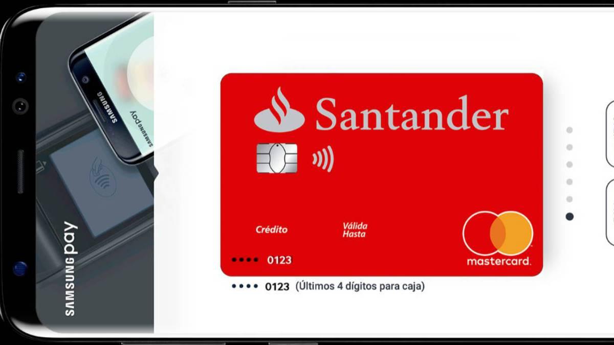 Ya se puede pagar con samsung pay siendo cliente del banco for Sucursales y cajeros santander