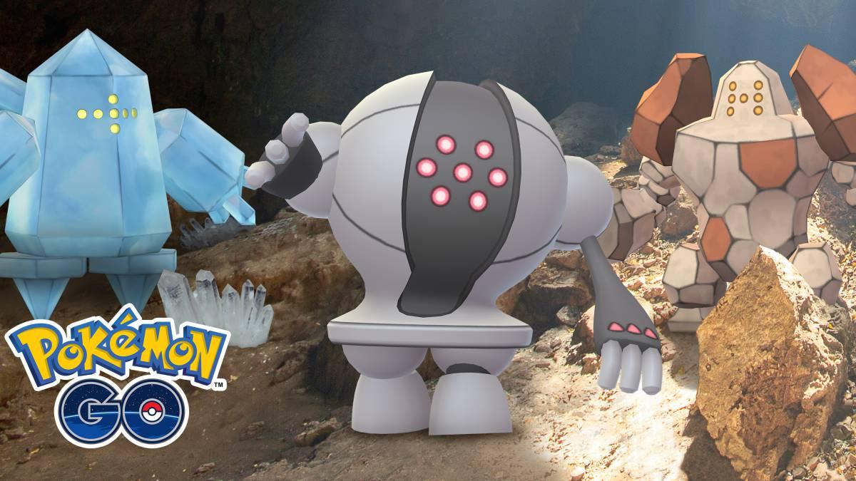 Regice, Regirock y Registeel son anunciados por Niantic — Pokémon GO