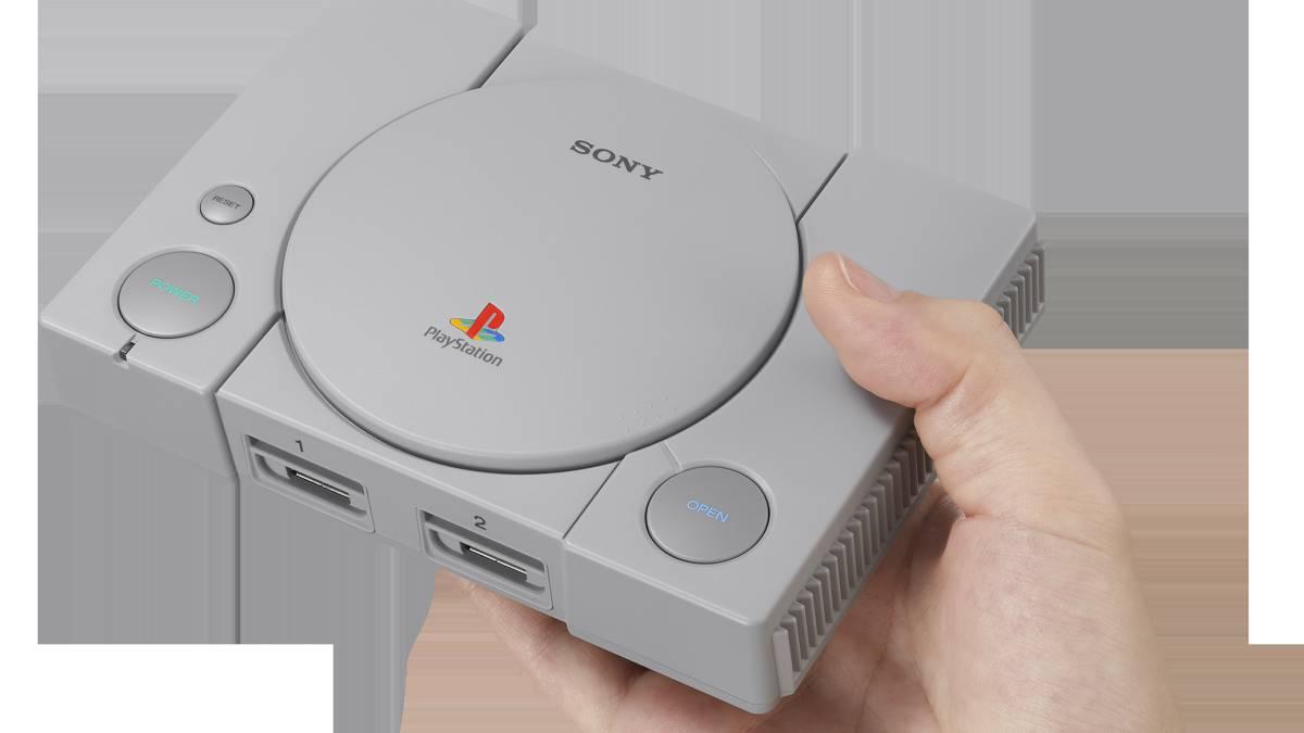 Llega PlayStation Classic, la nueva consola mini de Sony