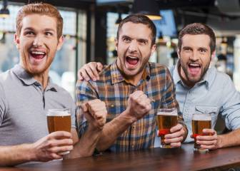 Cómo beber alcohol y no pasar de la talla L a la XL