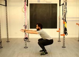 Así no se hacen: las sentadillas ('squats')