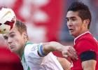Gutiérrez jugó en Twente que se recuperó ante G.A. Eagles