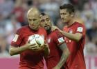 Robben aclara a Vidal: