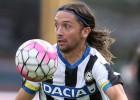 Manuel Iturra sumó minutos en empate del Udinese como local