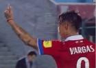 Edu Vargas arriesga dura sanción por gestos obscenos