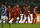 Bayern y Vidal se afianzan en la cima con triunfo sobre Schalke