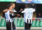 Udinese de Iturra sufrió para derrotar como visita al Chievo