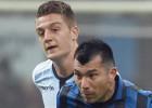 Inter de Medel cae ante Lazio pero sigue líder de la Serie A