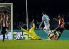 El Celta se cae y cede terreno en la lucha por la Champions