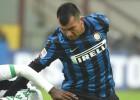 Medel salió con problemas físicos en derrota del Inter