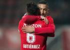 Felipe Gutiérrez brilla con pase gol en goleada del Twente