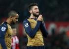 Arsenal tropieza sin Alexis y ahora es líder junto al Leicester