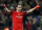 Guardiola tienta a Bravo para que sea su meta en la Premier