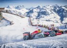 ¿Un Fórmula 1 en la nieve? Verstappen lo hizo realidad