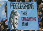 Los hinchas del City homenajean a Pellegrini