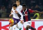 Fernández fue expulsado en sufrido empate de la Fiorentina